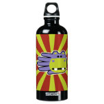 Hand shaped Purple Hippo Water Bottle