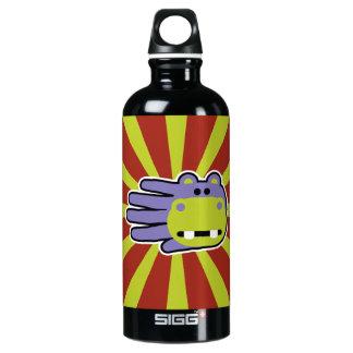 Purple Hippo Water Bottle