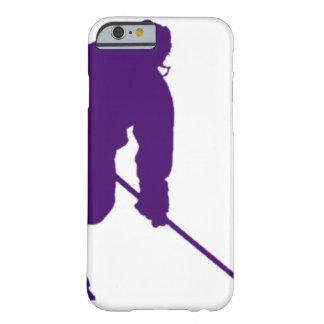 PURPLE HOCKEY PLAYER BARELY THERE iPhone 6 CASE