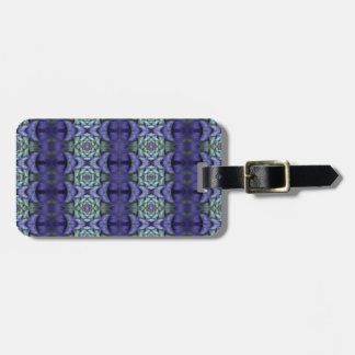 Purple Holly Luggage Tag
