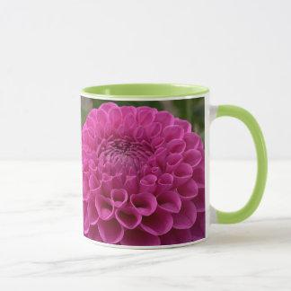 Purple Honeycomb Dahlia On Multiple Products Mug