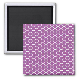 Purple Honeycomb Magnet