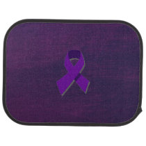 Purple Hope From the Darkness Car Floor Mat