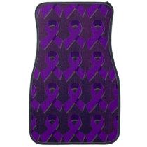 Purple Hope From the Darkness Car Mat