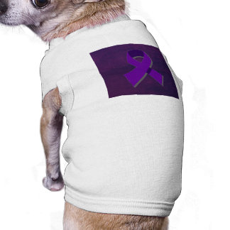 Purple Hope From the Darkness Doggie T Shirt