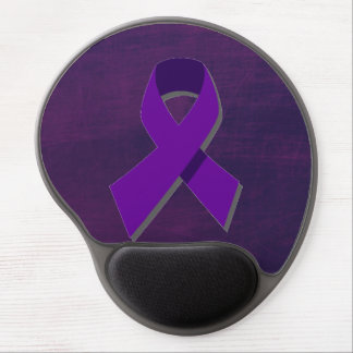 Purple Hope From the Darkness Gel Mouse Mat