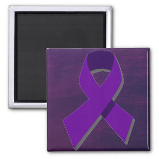 Purple Hope From the Darkness Magnet