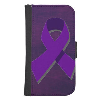Purple Hope From the Darkness Wallet Phone Case For Samsung Galaxy S4