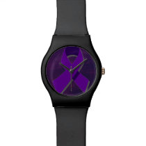Purple Hope From the Darkness Wrist Watch