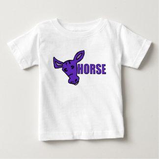 Purple Horse Baby T-Shirt