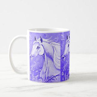 Purple  Horse Coffee Mug