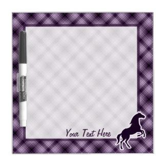 Purple Horse Dry-Erase Whiteboards