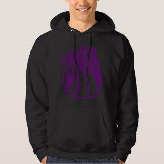 Purple Horse Hoodie