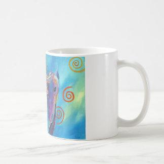 Purple Horse Mug