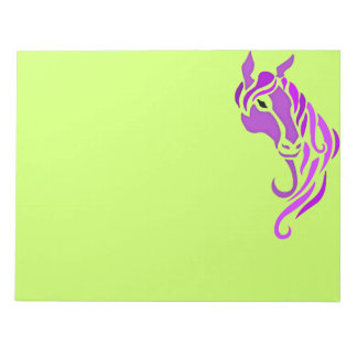 Purple Horse Note Pads