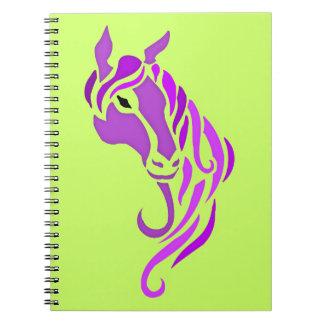 Purple Horse Notebook