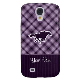 Purple Horse Racing Samsung Galaxy S4 Case