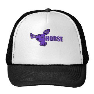 Purple Horse Trucker Hat