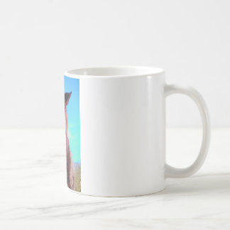 Purple Horse w/ Green Mouth Coffee Mug