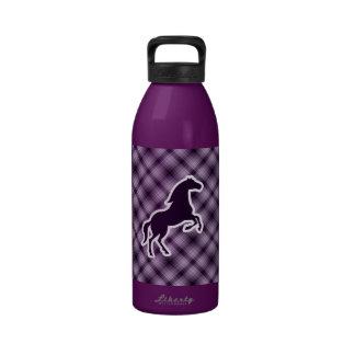 Purple Horse Water Bottle