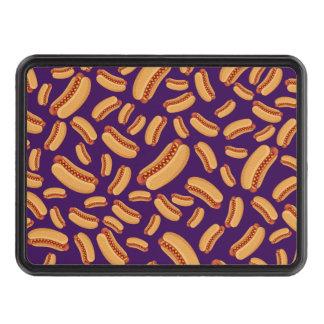 Purple hotdogs tow hitch covers