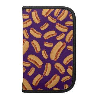 Purple hotdogs folio planners