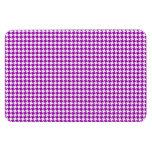Purple Houndstooth Pattern Magnet
