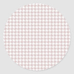 Purple Houndstooth Stickers