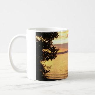 Purple Hues over Pigeon Lake Coffee Mug