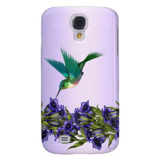 Purple Hummingbird i Samsung S4 Case