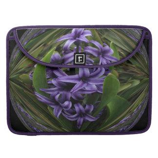 Purple Hyacinth MacBook Pro Sleeve
