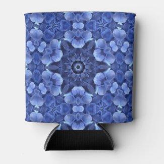 Purple Hydrangea Can Cooler