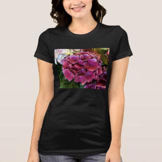 Purple Hydrangea Flower T-Shirt