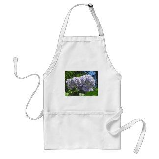 Purple Hydrangea flowers (Hydrangea macrophylla) Adult Apron