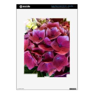 Purple Hydrangea iPad Skin