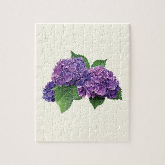 Purple Hydrangea Puzzle