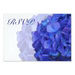 Purple Hydrangea RSVP Cards