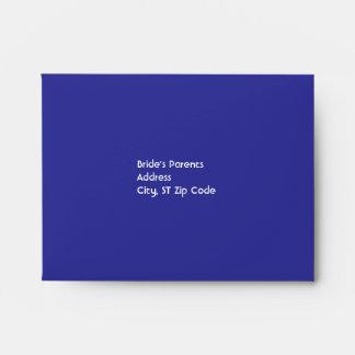 Purple Hydrangea RSVP Envelopes