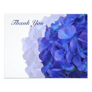 Purple Hydrangea Thank You Card Invitation