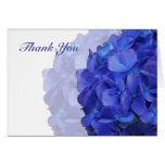 Purple Hydrangea Thank You Cards