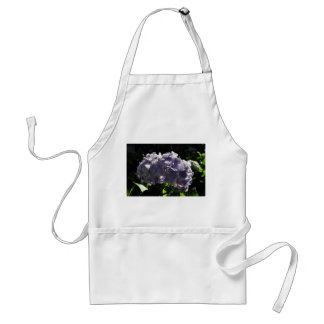Purple Hydrangeas Flowers Adult Apron