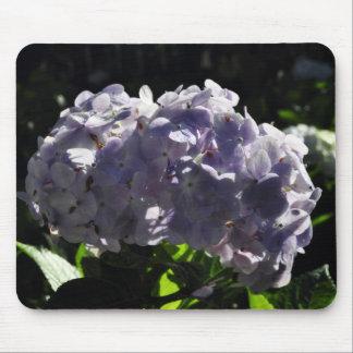 Purple Hydrangeas Flowers Mouse Pad