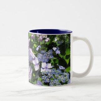 Purple Hydrangia Mug