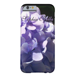 Purple Hydrangrea Barely There iPhone 6 Case