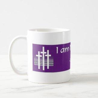 PURPLE_I AM NOT ASHAMED OF JESUS MUG_Mark838 mug