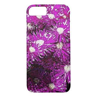Purple Ice Cap Abstract iPhone 7 Case