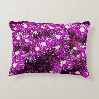 Purple Ice Cap Accent Pillow
