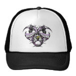 Purple Ice Dragonheart Trucker Hat