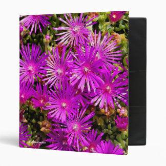 Purple Ice Plants Binder