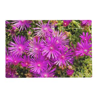 Purple Ice Plants Placemat